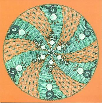 """""""Cristallisation"""" : nos peines, nos joies, nos émotions...tout se cristallise en notre centre...et donc au centre de l'univers."""