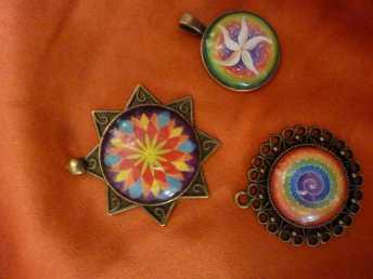 cabochons pendentifs