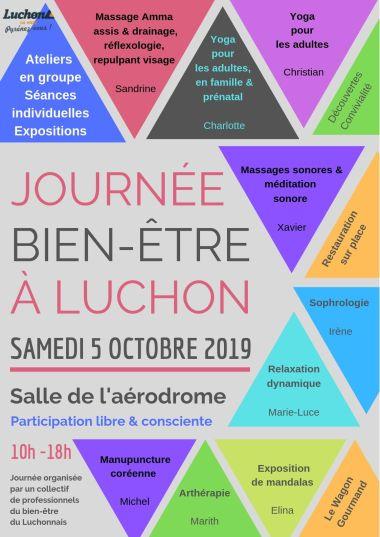 logo - Poster A3 - Journée Bien-être Luchon